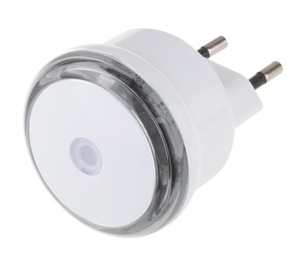 Emos LED noční světlo do zásuvky 230V, 3x LED, s fotosenzorem 1456000060