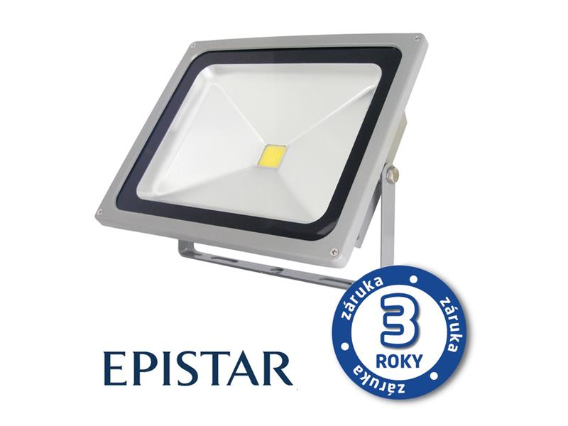 LED reflektor venkovní  20W/1700lm EPISTAR, MCOB, AC 230V, STUDENÁ, šedý