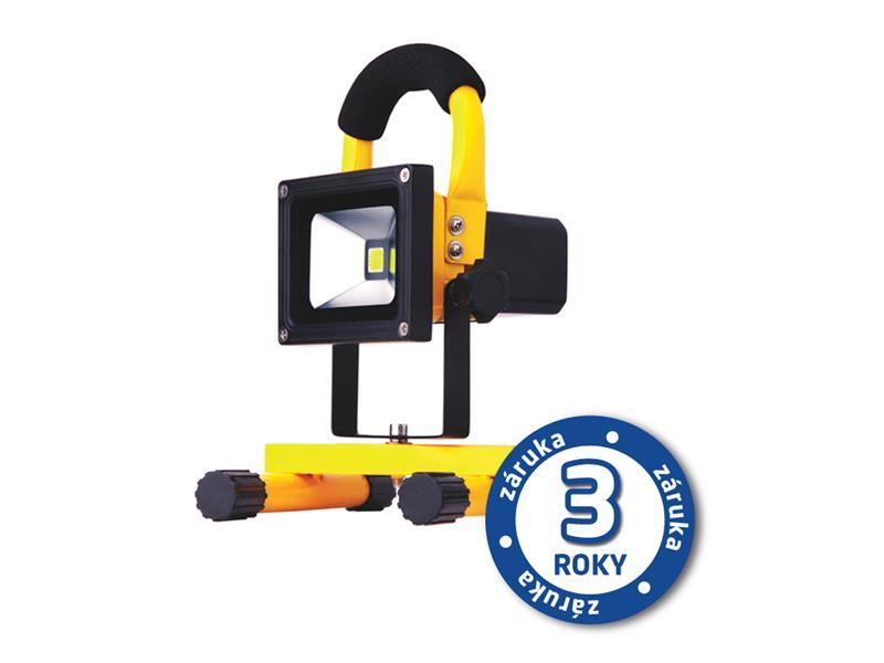 REFLEKTOR LED AKU PMCOB 10W přenosný