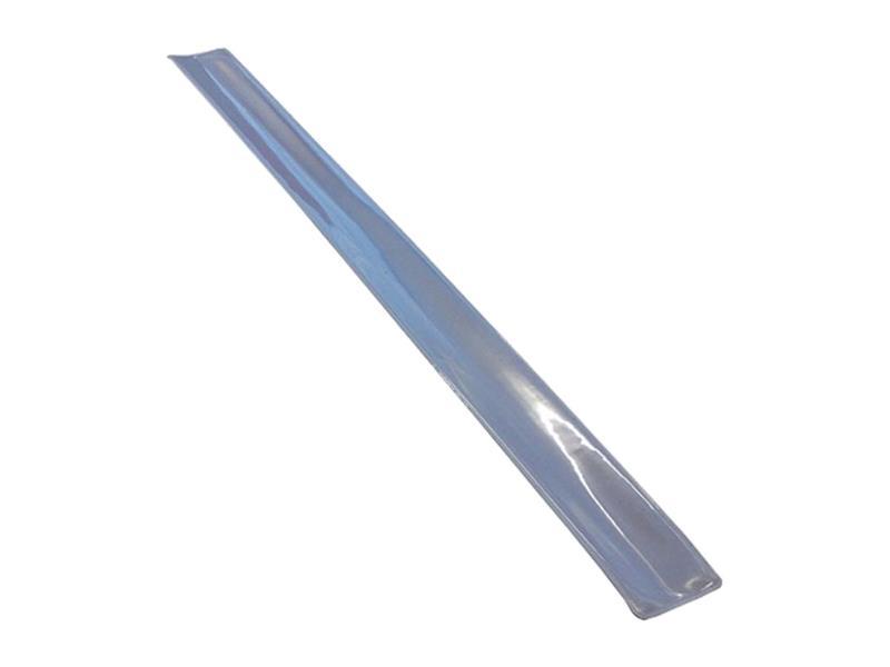 Reflexní samonavíjecí páska, stříbrná