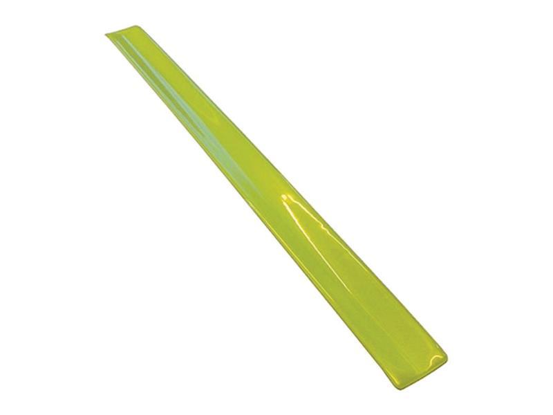 Reflexní samonavíjecí páska, žlutá
