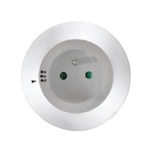 Solight WL93 noční LED světlo s průběžnou zásuvkou, volitelné 3 barvy světla, senzor, 230V