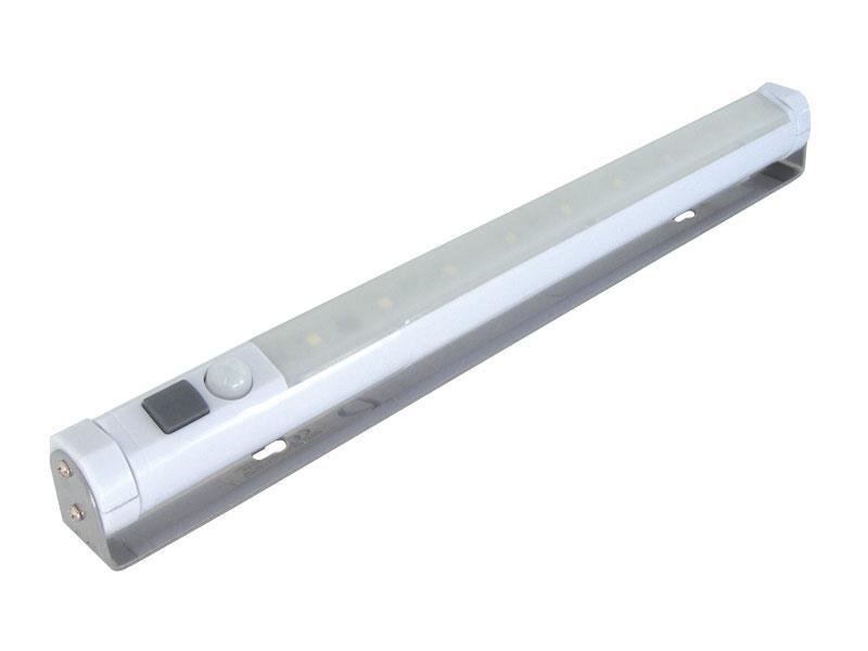 TIPA Svítidlo LED nástěnné s pohybovým PIR senzorem TPK01, bílá teplá