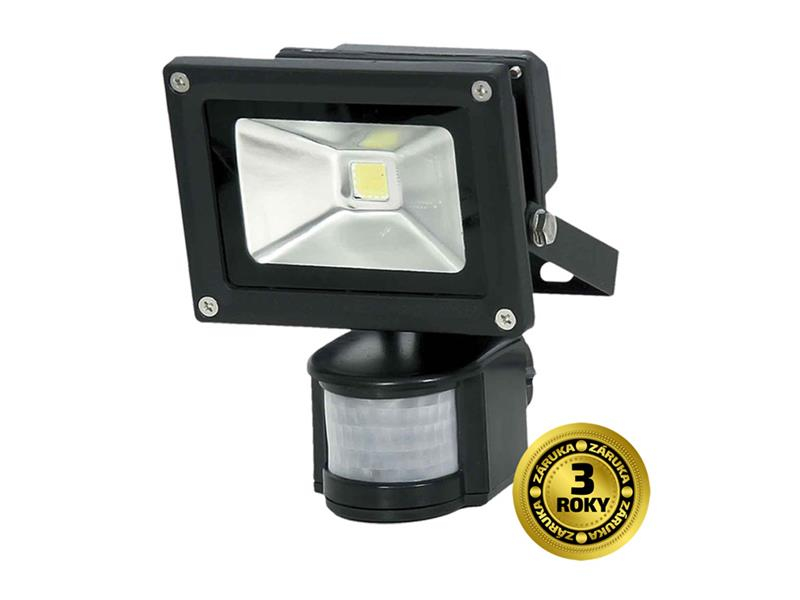 LED reflektor SOLIGHT WM-10WS-E 10W PIR