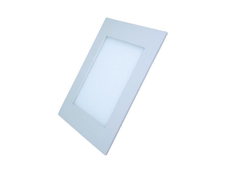 LED mini panel podhledový 6W, 400lm, 3000K, tenký, čtvercový, bílé WD103 SOLIGHT