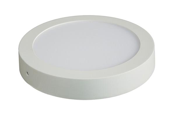 LED panel přisazený, 12W, 900lm, 3000K, kulaté, bílé SOLIGHT WD113