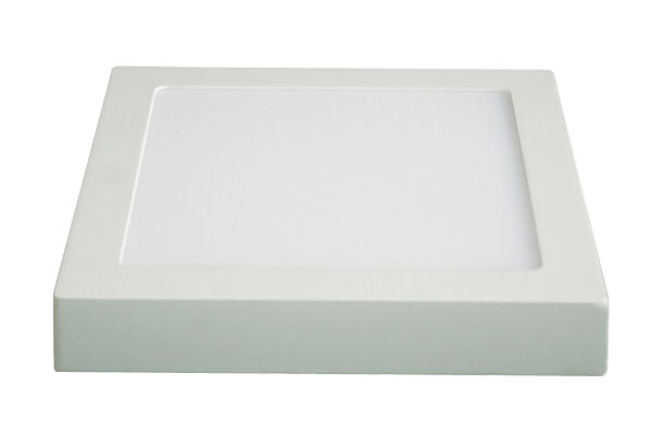 LED panel přisazený, 12W, 900lm, 4000K, čtvercové, bílé SOLIGHT WD116