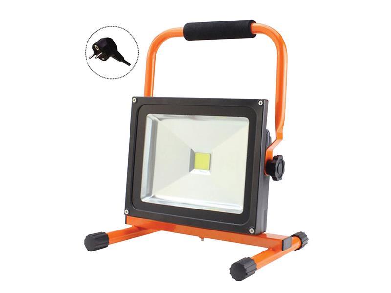 Venkovní reflektor LED Solight , 20W, 1400lm, přívodní kabel 1,2m, AC 230V, stojan WM-20W-ES