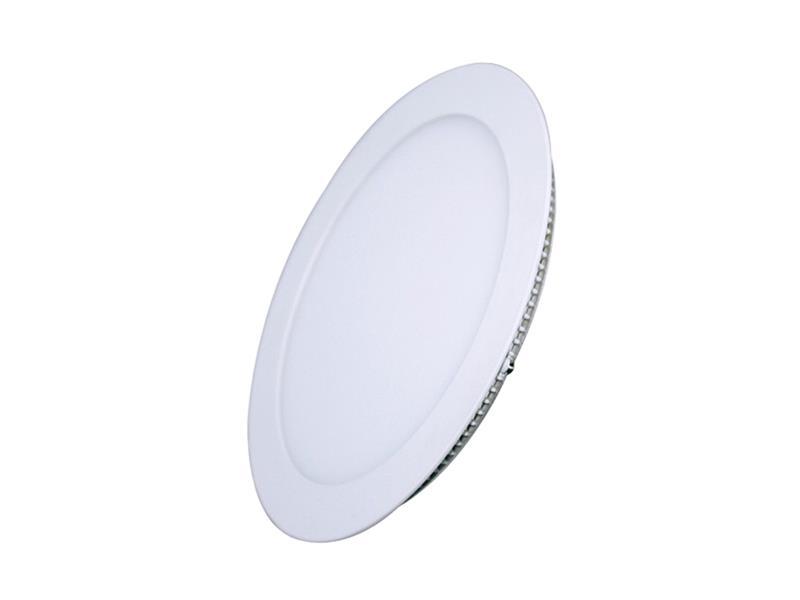 LED mini panel podhledový 6W, 400lm, 4000K, tenký, kulatý, bílé WD102 SOLIGHT