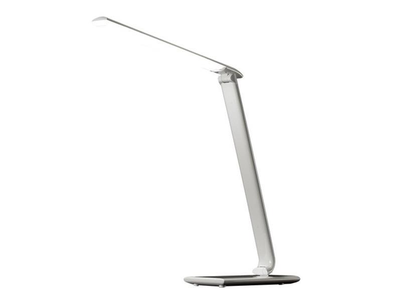 Solight WO37-W LED stolní lampička stmívatelná, 9W, volba teploty světla, bílý lesk