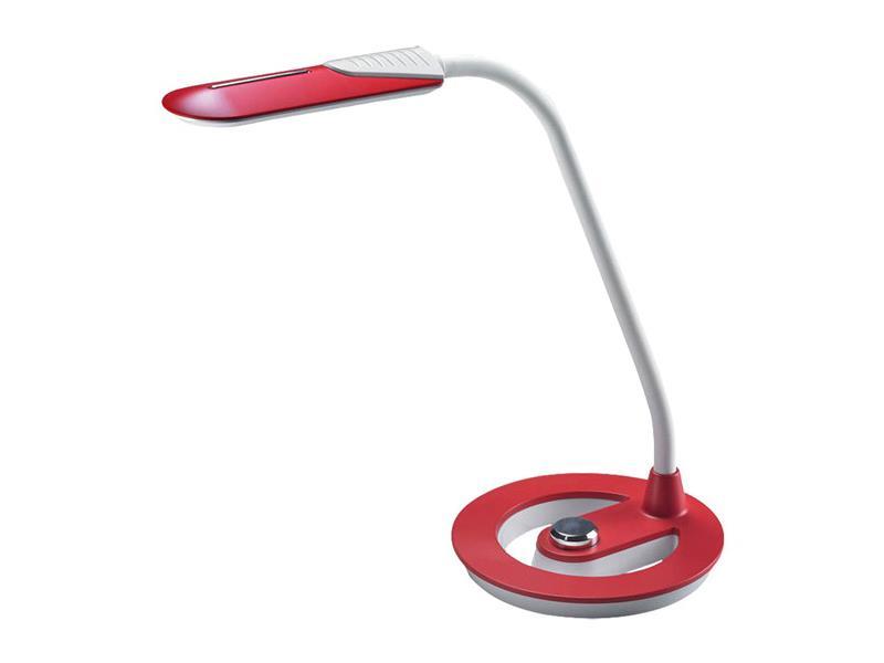 Solight LED lampička 6W, 4100K, stmívatelná, bíločervená WO38-R