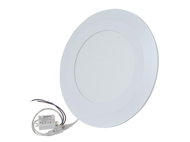 TIPA LED mini panel podhledový 5W, 400lm, 4000K, tenký, kulatý, bílá
