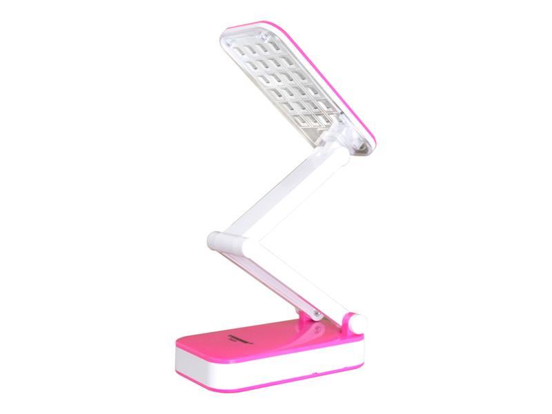 Lampa LED stolní TIROSS TS-55, 24 LED, 800 mAh růžová