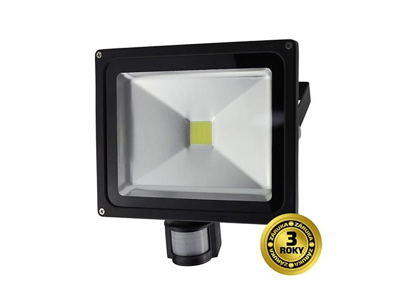LED reflektor SOLIGHT WM-30WS-E 30W PIR