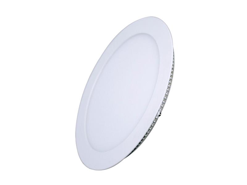 TIPA LED mini panel podhledový, 12W, 3000K-teplá, kulatý, PP06