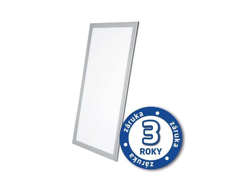 TIPA LED panel, 30W, 30x60cm, 2000lm, 4000K, stříbrný rám, LP02