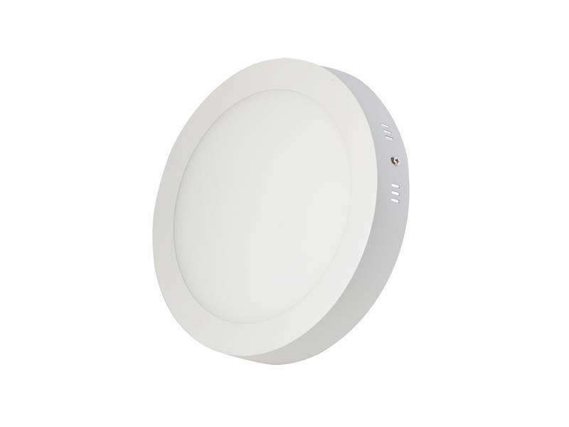 TIPA LED svítidlo přisazené, 12W, 3000k-teplá, kulaté, LS01