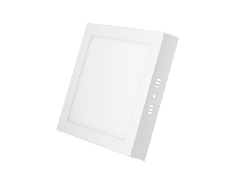 TIPA LED svítidlo přisazené, 12W, 3000k-teplá, čtvercové, LS02