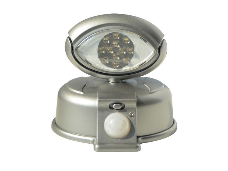 TIPA LED reflektor s čidlem na AA baterie, RF01