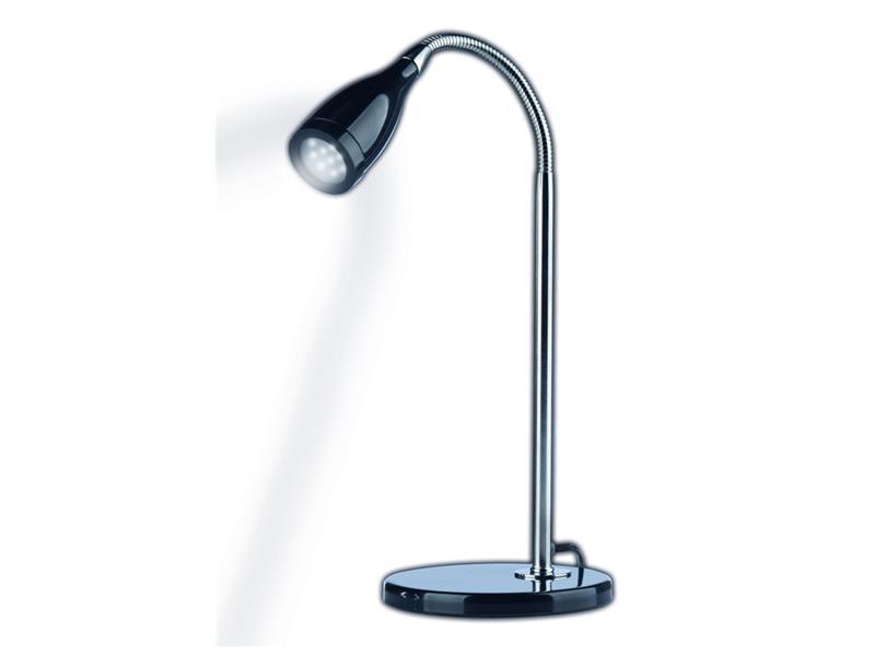 Stolní lampička 11xLED černá