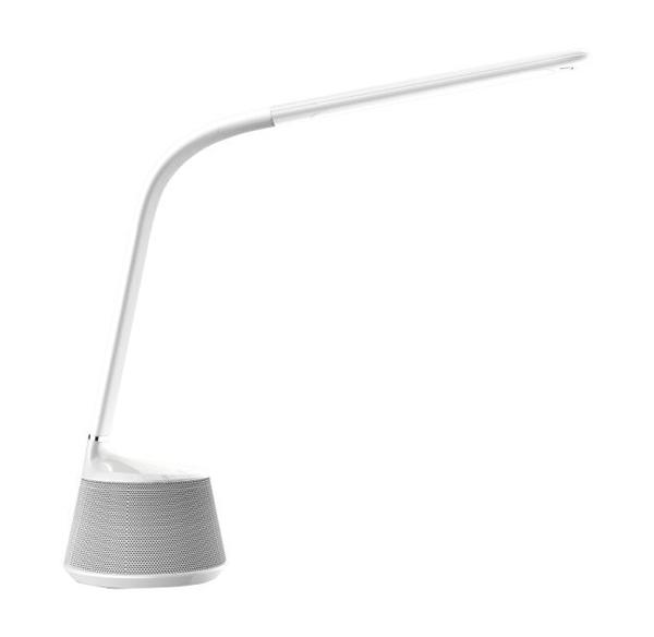 Immax Speaker stolní lampička LED 11,5W, 500lm, DC 12V,1,5A, stmívatelná, Hi-Fi bluetooth repro, fle