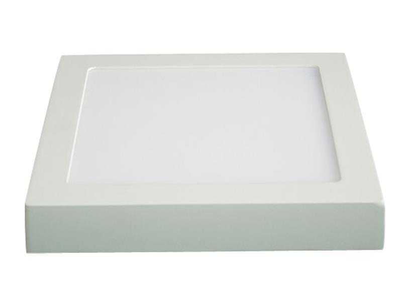 LED panel přisazený, 24W, 1800lm, 4000K, čtvercový, bílý SOLIGHT WD124