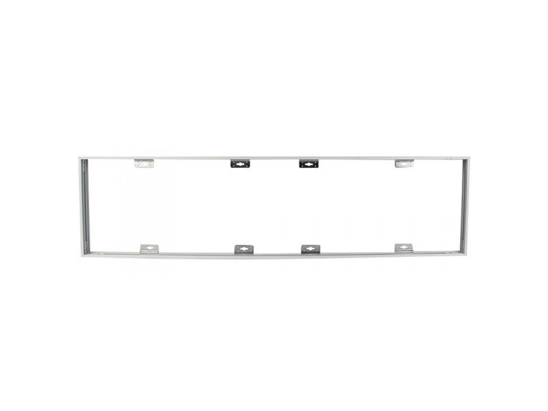 Rámeček pro LED panely 30x120cm, bílý