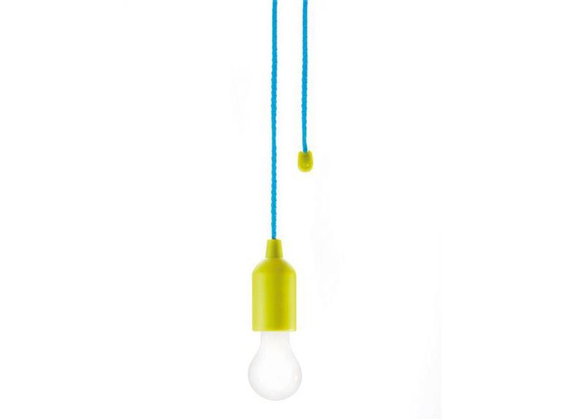 Svítidlo lampička LED k zavěšení Loooqs, zelená