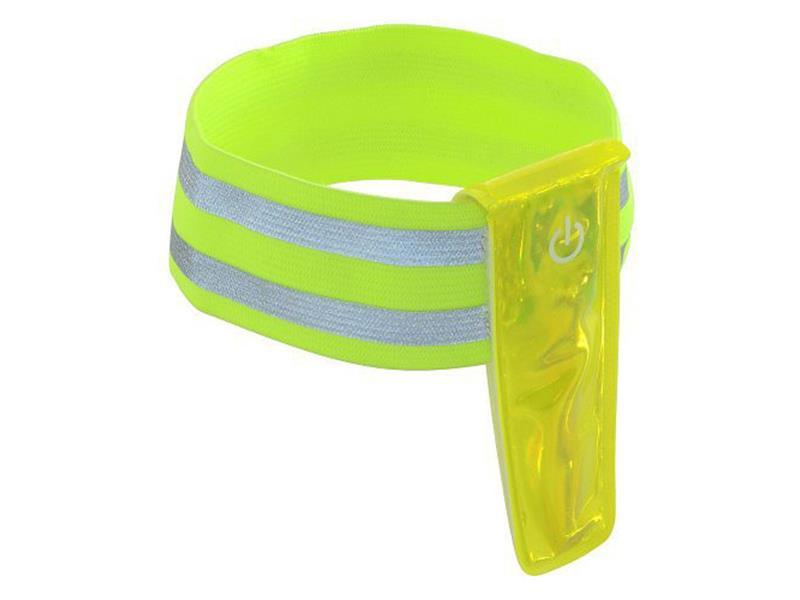 Reflexní pásek na ruku 4 LED COMPASS 01588