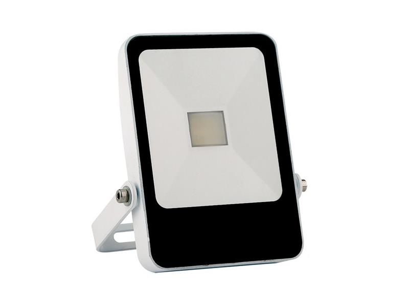 Solight LED venkovní reflektor STYLE, 10W, 700lm, 4000K, bílá WM-10W-H