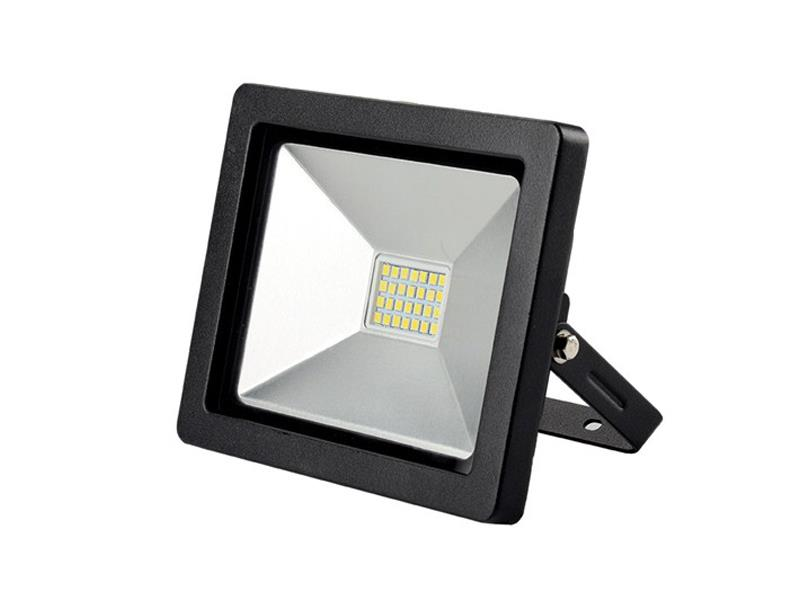 Solight LED venkovní reflektor SLIM, 20W, 1400lm, 3000K, černá WM-20W-G