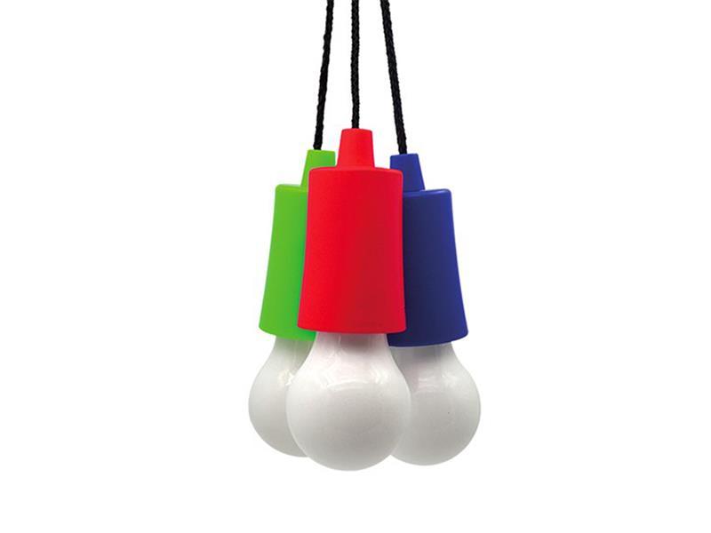 Svítilna LED - žárovka, 1W, 50lm, 2 x AAA