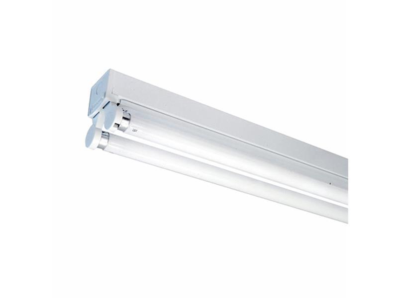 Těleso pro LED trubice 2x 60cm bez krytu