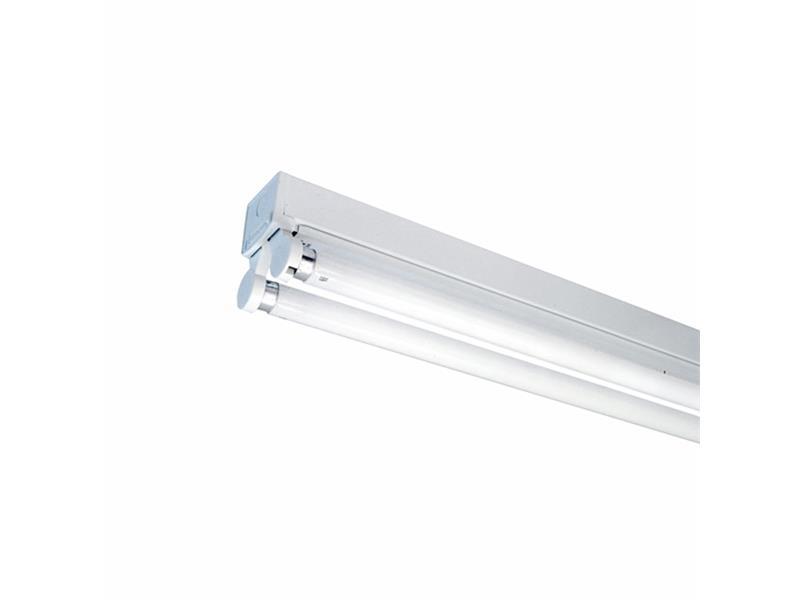 Těleso pro LED trubice 2x120cm bez krytu