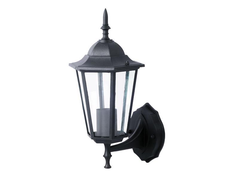 Zahradní svítidlo nástěnné, černé, UP, VT-749