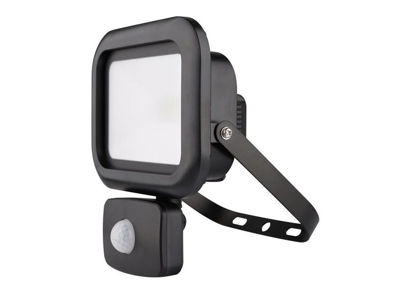 LED venkovní reflektor Sensor, 10W, 800lm, AC 230V, RETLUX RSL 238 Flood