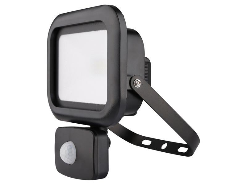 LED venkovní reflektor Sensor, 50W, 4000lm, AC 230V, RETLUX RSL 241 Flood