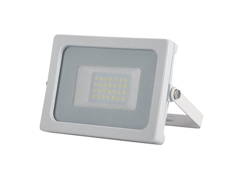 LED reflektor venkovní SLIM  20W/1600lm, 6400K, SMD, bílá