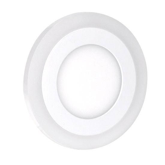 LED podsvícený panel, podhledový, 6W+3W, 400lm, 4000K, kulatý WD150