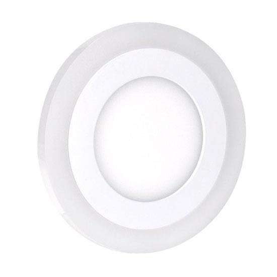 LED podsvícený panel, podhledový, 18W+6W, 1530lm, 4000K, kulatý WD154