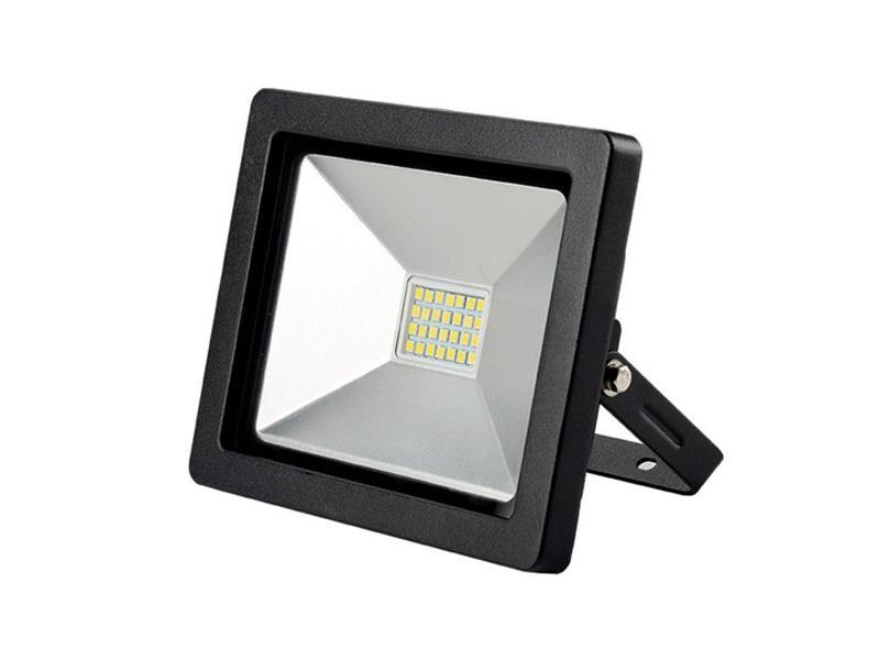 Solight LED venkovní reflektor SLIM, 30W, 2100lm, 3000K, černá SOLIGHT WM-30W-G