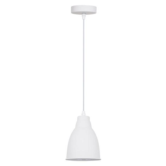 Svítidlo lustr Trento, 13,5 cm, E27, bílá