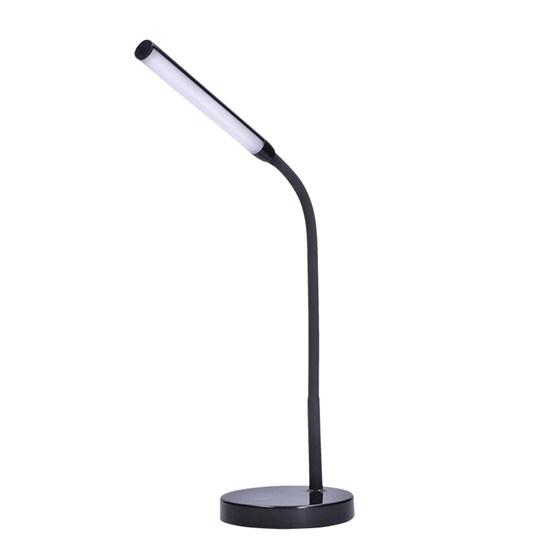 Svítidlo stolní LED lampička, 4W, stmívatelná, 4500K, černá barva  WO52-B