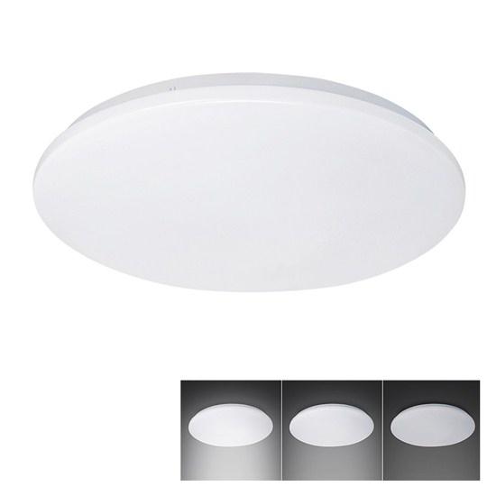 LED stropní světlo, 3-stupňové stmívání, , 32W, 2240lm, 4000K, kulaté, 38cm WO727