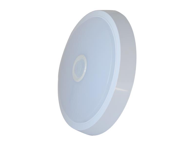 Svítidlo LED stropní/nástěnné Geti GCL03 s PIR čidlem, IP20, 15W, 4000K