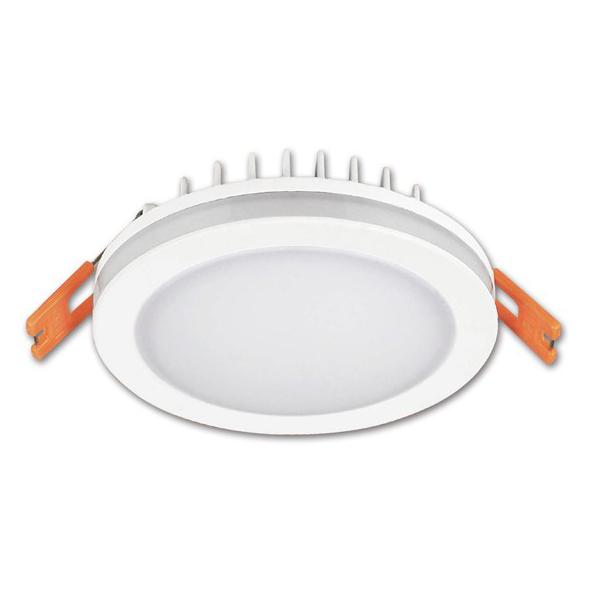 LED podhledové svítidlo, 10W, 800lm, 4000K, IP44, kulaté Solight WD137