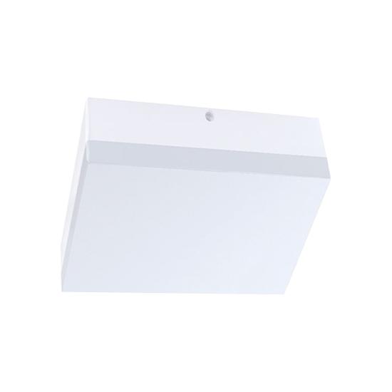 LED venkovní osvětlení, přisazené, čtvercové, IP44, 15W, 1150lm, 4000K, 22cm, WO730