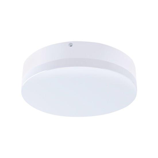 LED venkovní osvětlení, přisazené, kulaté, IP44, 15W, 1150lm, 4000K, 22cm, WO731