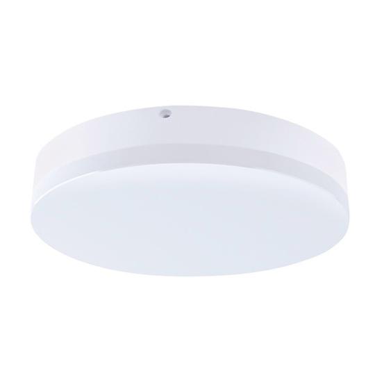 LED venkovní osvětlení, přisazené, kulaté, IP44, 24W, 1800lm, 4000K, 28cm, WO733