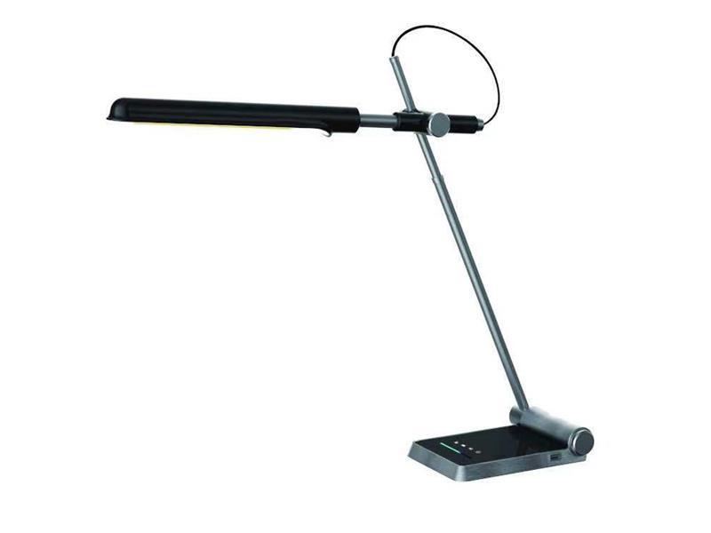 Lampa LED stolní IMMAX MARABU BLACK 08954L